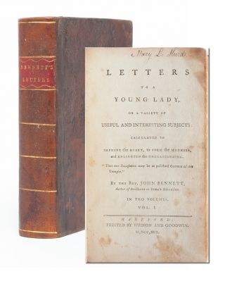 Image 1 of 8 for Letters to a Young Lady on a Variety of Subjects: Calculated to Improve the...