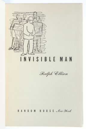 Image 7 of 8 for Invisible Man (Signed First Edition