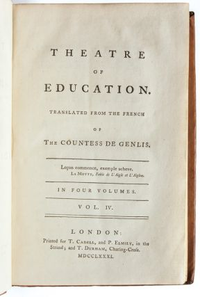 Theatre of Education (in 4 vols.)