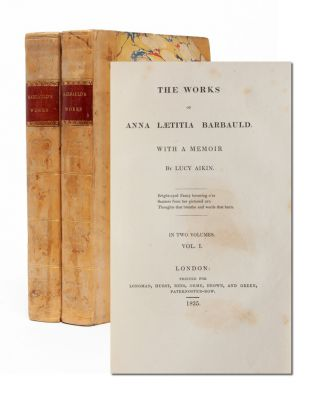 Image 1 of 9 for The Works of Anna Laetitia Barbauld with a Memoir (in 2 vols