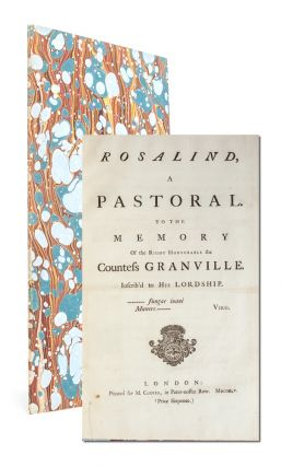 Image 1 of 5 for Rosalind, a Pastoral. To the Memory of the Right Honourable the Countess Granville