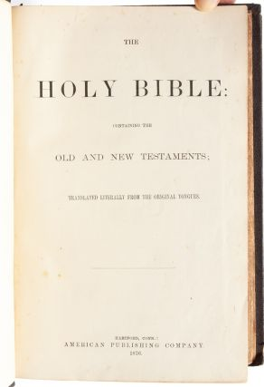 Image 5 of 7 for The Holy Bible: Containing the Old and New Testaments; Translated Literally from...