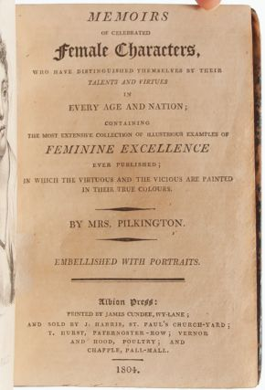 Image 4 of 8 for Memoirs of Celebrated Female Characters, who have Distinguished Themselves by...