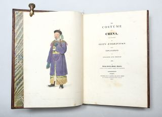 The Costume of China; The Punishments of China; The Costume of the Russian Empire; The Costume of Turkey; The Costume of Great Britain; The Costumes and Customs of Modern India.