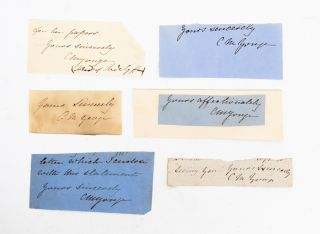 Collection of Autograph Letters Signed by a popular novelist