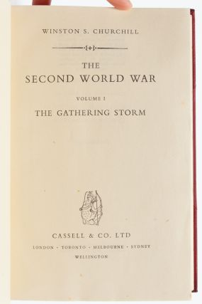 Image 4 of 7 for The Second World War (Finely bound in 6 volumes