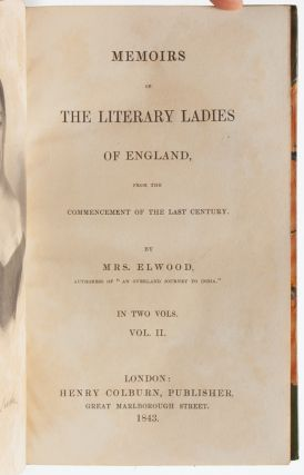 Image 7 of 8 for Memoirs of the Literary Ladies of England from the Commencement of the Last...