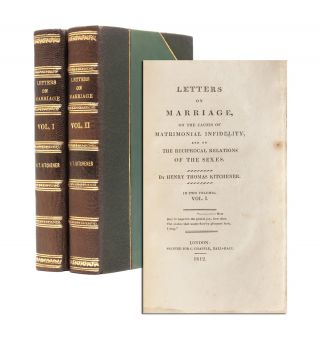 Image 1 of 8 for Letters on Marriage, on the Causes of Matrimonial Infidelity, and on the...