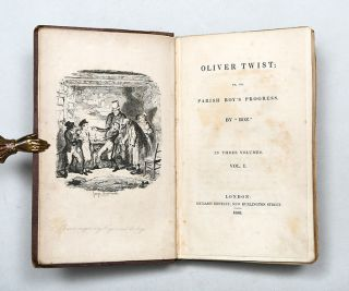 Oliver Twist; Or the Parish Boy's Progress (in 3 vols.)