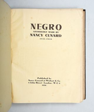 Image 5 of 9 for Negro (First Edition Signed
