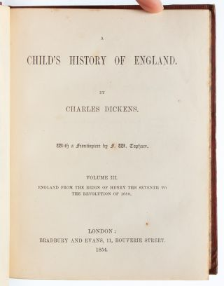 Image 9 of 10 for A Child's History of England (in 3 vols