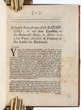 Petition of the Ladies & c.: A Compilation of Scarce 17th Century Treatises on Gender