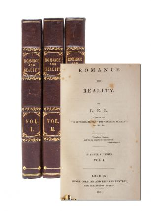 Image 1 of 9 for Romance and Reality (in 3 vols