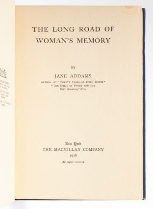 Image 5 of 8 for The Long Road of Woman's Memory (Signed First Edition
