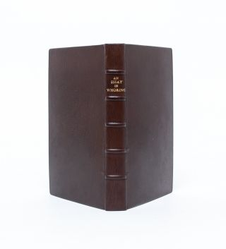 An Essay Towards a General History of Whoring. From the Creation of the World...and from Thence to the Present Year 1697