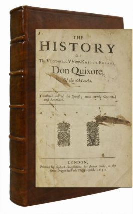 Image 1 of 3 for THE HISTORY OF THE VALORUS AND WITTY KNIGHT ERRANT DON-QUIXOTE, OF THE MANCHA