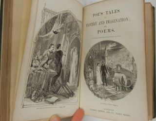 Image 5 of 5 for Poe's Tales of Mystery and Imagination; and Poems [First and Second Series bound...