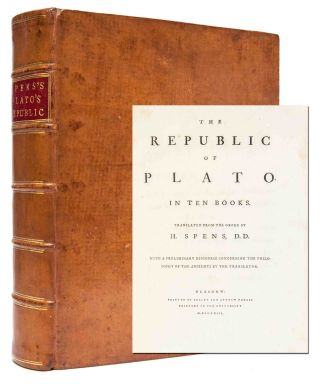 Image 1 of 1 for THE REPUBLIC OF PLATO In Ten Books