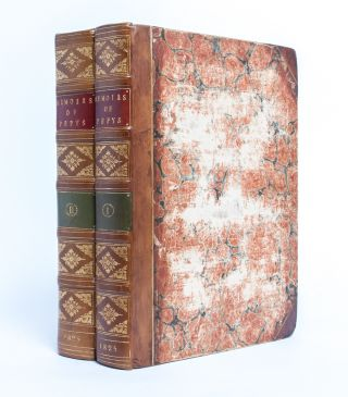 Image 1 of 3 for Memoirs of Samuel Pepys Comprising His Diary from 1659-1669, Deciphered by the...